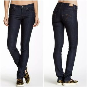 Level 99 Lily Skinny Straight Jeans 31 Rinse Wash